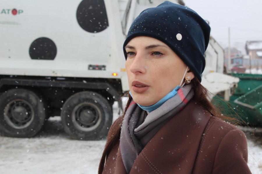 Елена Кудашкина, глава Санниковского сельсовета.