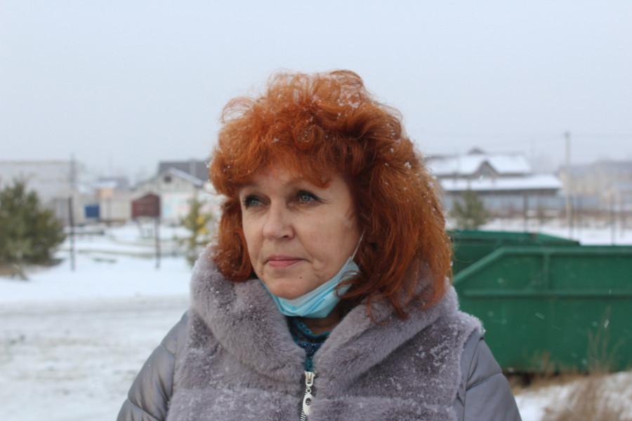 Светлана Семенова, местная жительница с.Санниково.