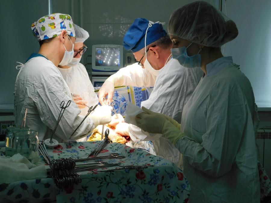 Онкологический диспансер. Операция.
