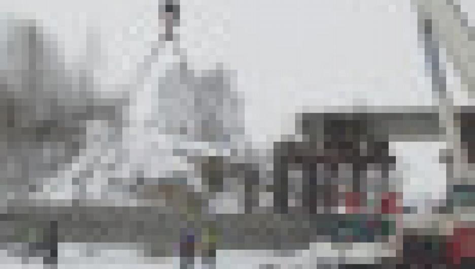 На Чуйском тракте в Первомайском районе идет демонтаж путепровода.