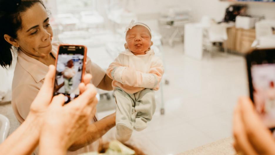 Младенец, роды.