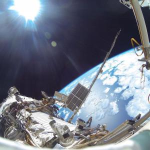 МКС. Выход в открытый космос.