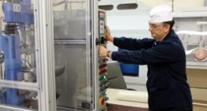 Участок цеха по производству изотопов ПО «ЭХЗ» (Зеленогорск, Красноярский край).