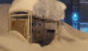 Снегопад. Норильск.