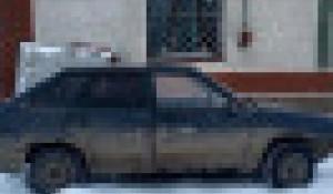 Угнанный автомобиль. Алтайский край.