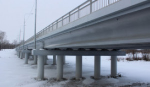Мост через р.Песчаная в Смоленском районе.