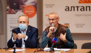 Юрий Пургин и Валерий Покорняк.