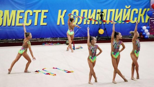 Турнир по художественной гимнастике в Барнауле.