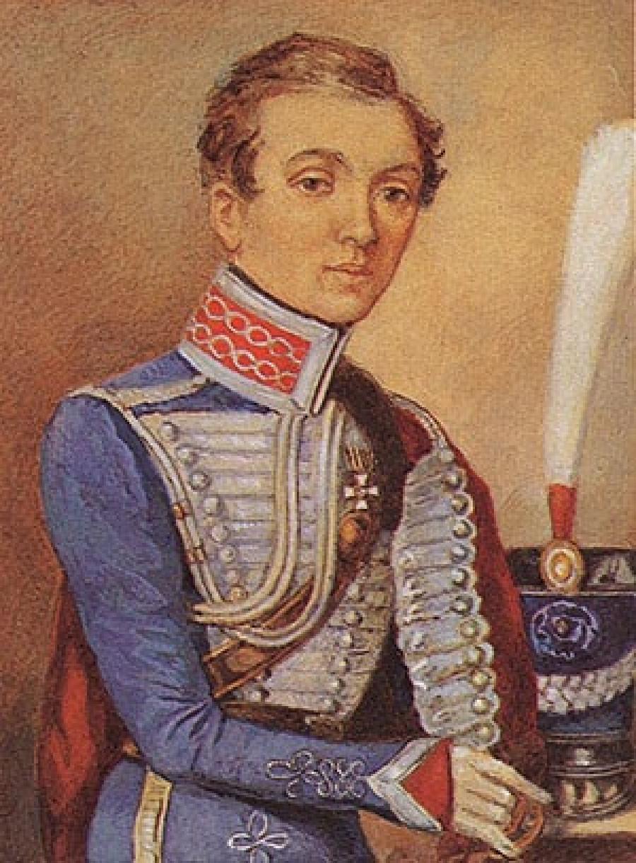 Участница войны 1812 года Надежда Дурова