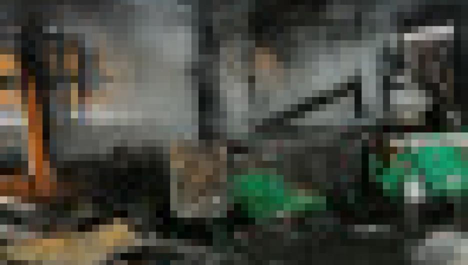 """Пожар в приюте """"Верность"""". Новосибирск."""