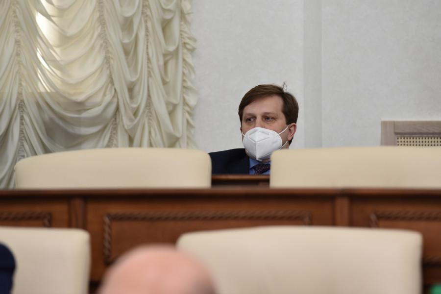 Сессия АКЗС 17 декабря 2020 года. Министр здравоохранения Дмитрий Попов.