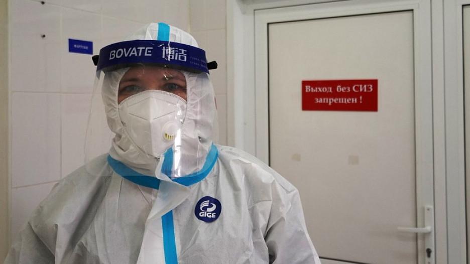 Врач, коронавирус.