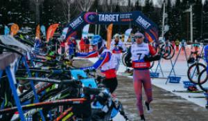 Финал этапа Кубка России по зимнему триатлону в Тягуне.