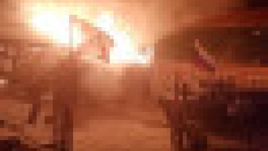 """Пожар в питомнике """"К-9"""". Иркутск."""