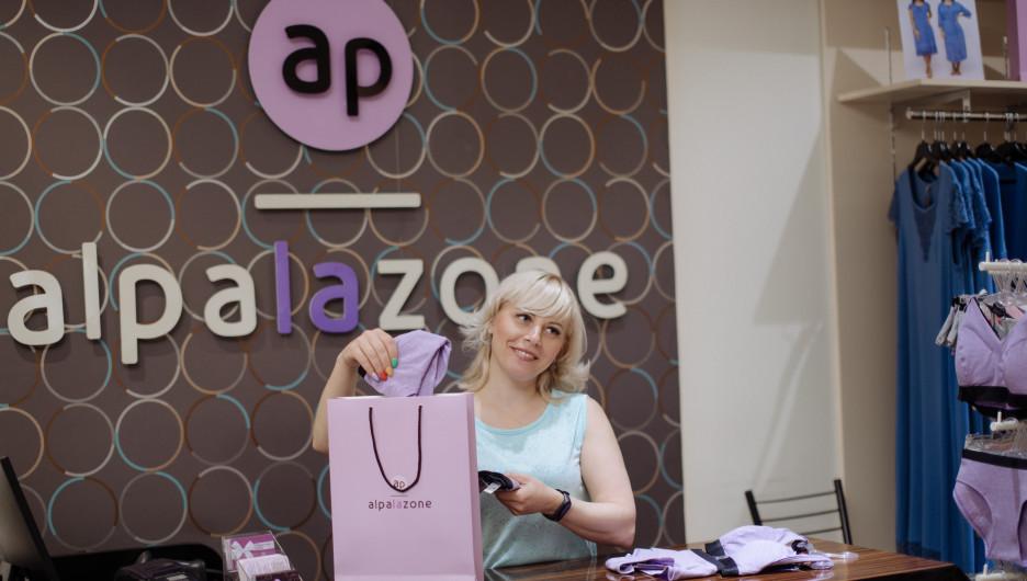 Альбина Шоль, основатель сети магазинов одежды бренда Alpalazone.