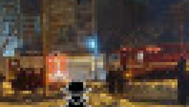 Пожар в общежитии АлтГТУ.