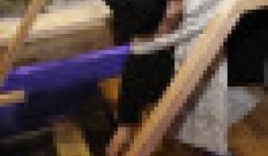 Крещенская купель на Алтае.