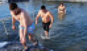 Крещенские купания-2021.
