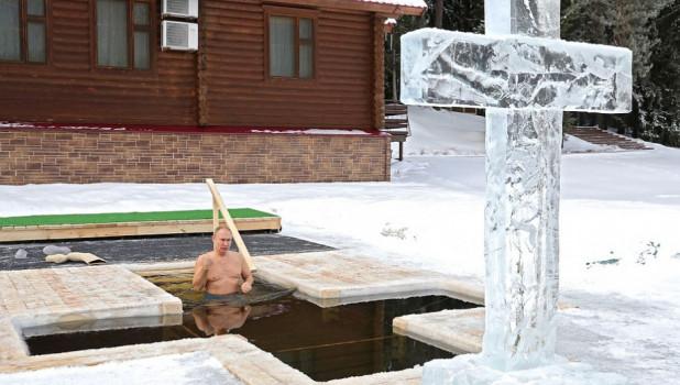 Владимир Путин, Крещение-2021.