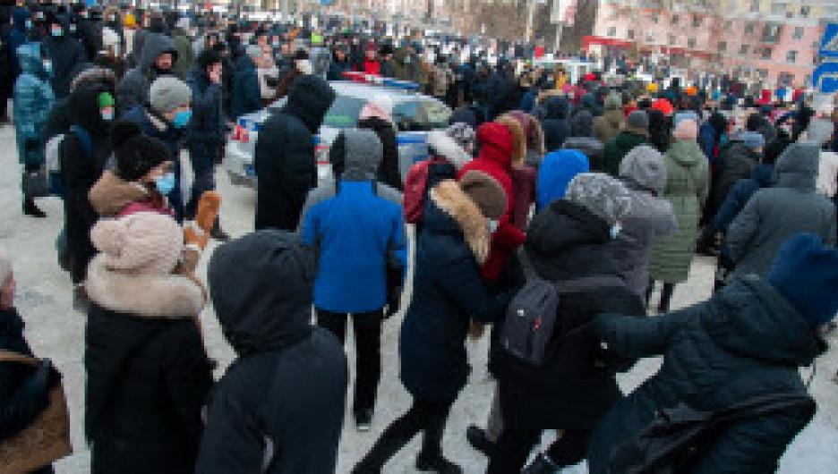 Попались на удочку. Губернатор Томенко высказался о протестных акциях в Барнауле