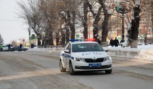 Полиция в Барнауле.