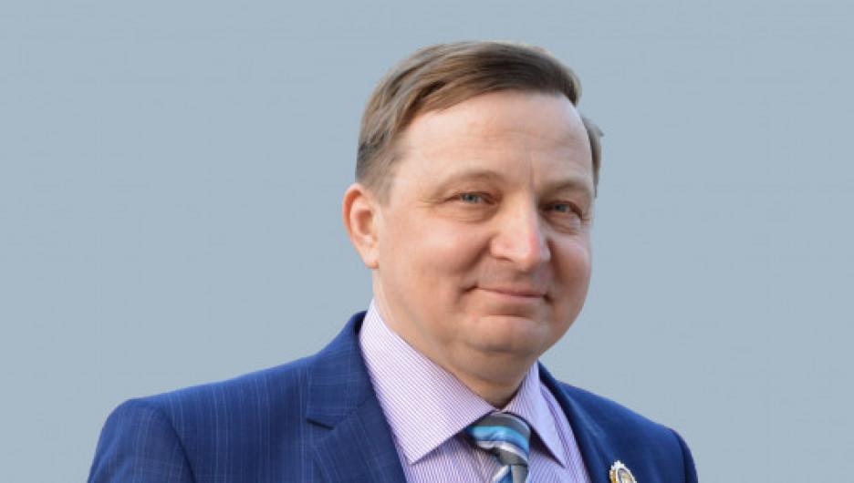 """Олег Шелудяков, руководитель предприятия """"Полимерпласт""""."""