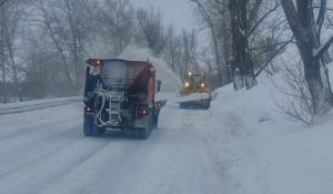 На Алтае ликвидировали последствия схода снега.