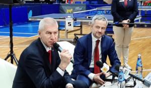 Визит министра спорта РФ Олега Матыцина в Барнаул.