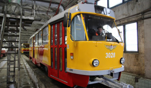 Обновленный трамвай.
