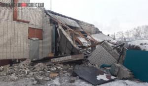Взрыв на СТО в Камне-на-Оби.