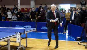 Визит министра спорта России Олега Матыцина в Барнаул.