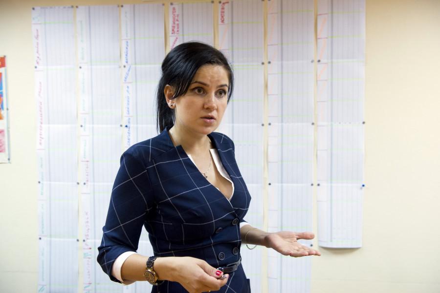 Мария Прусакова.