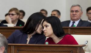 Мария Прусакова и Вероника Лапина.