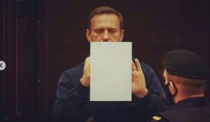 Алексей Навальный в суде 2 февраля 2021 года.