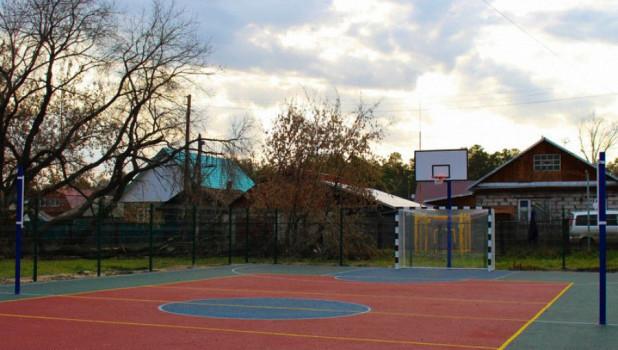 Спортивная площадка в Барнауле.