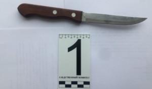 Орудие убийства. Нож.