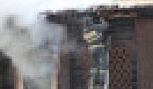 В Горно-Алтайске сгорела вечерняя школа.