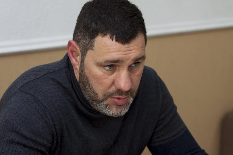 Армен Тоноян, председателя правления Федерации бокса Алтайского края.