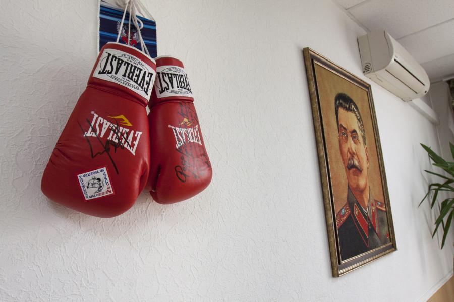 В кабинете Армена Тонояна.