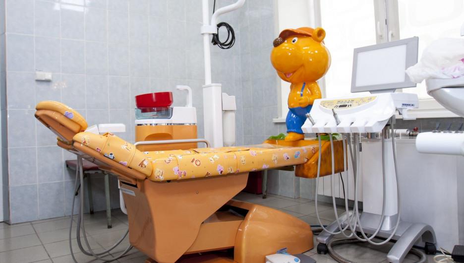Краевая детская стоматологическая поликлиника.