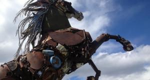 Железный конь.