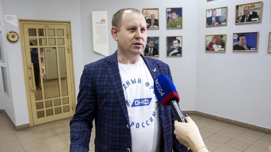 Сергей Войтюк, руководитель регионального исполкома ОНФ в Алтайском крае,