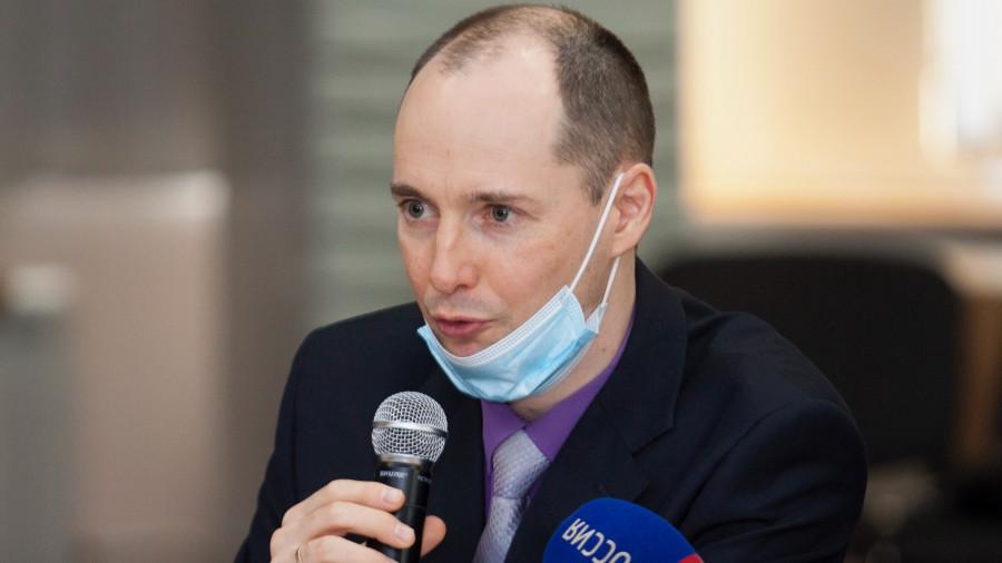 Вадим Горбунов, замминистра строительства и ЖКХ Алтайского края, на круглом столе 11 февраля.