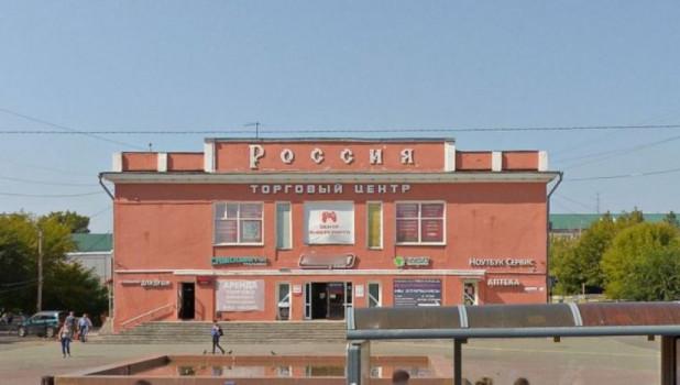 "ТЦ ""Россия"" в Барнауле."