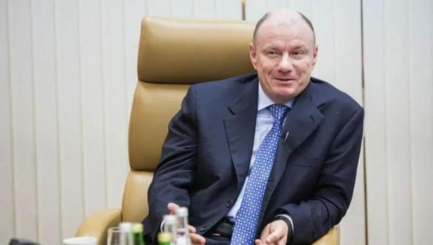 Владимир Потанин, российский миллиардер.