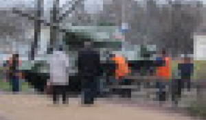 Танк Т-34. Брянск.