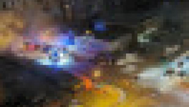Пожар на рынке. Новосибирск.