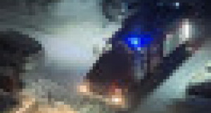 Пожарная машина. Барнаул.