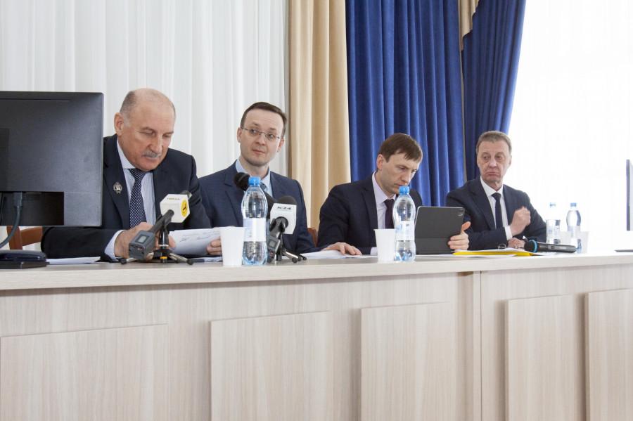 На общем собрании Союза строителей подвели итоги и обсудили острые вопросы отрасли. 25 февраля 2021 года.