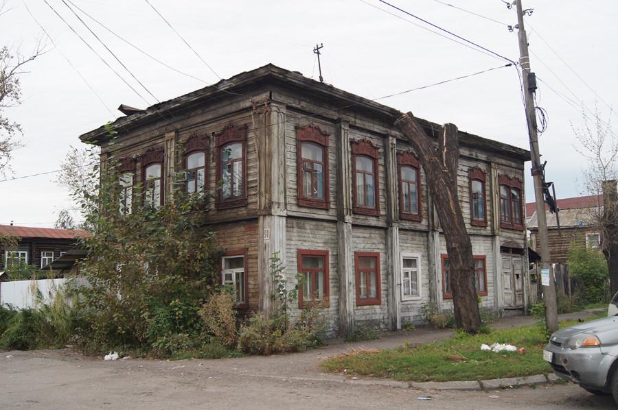 Дом на ул. Куйбышева, 90. Бийск.